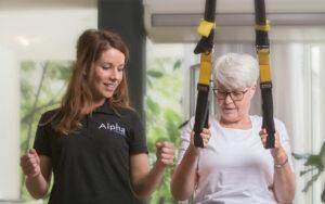 Medische training of fysio fitness
